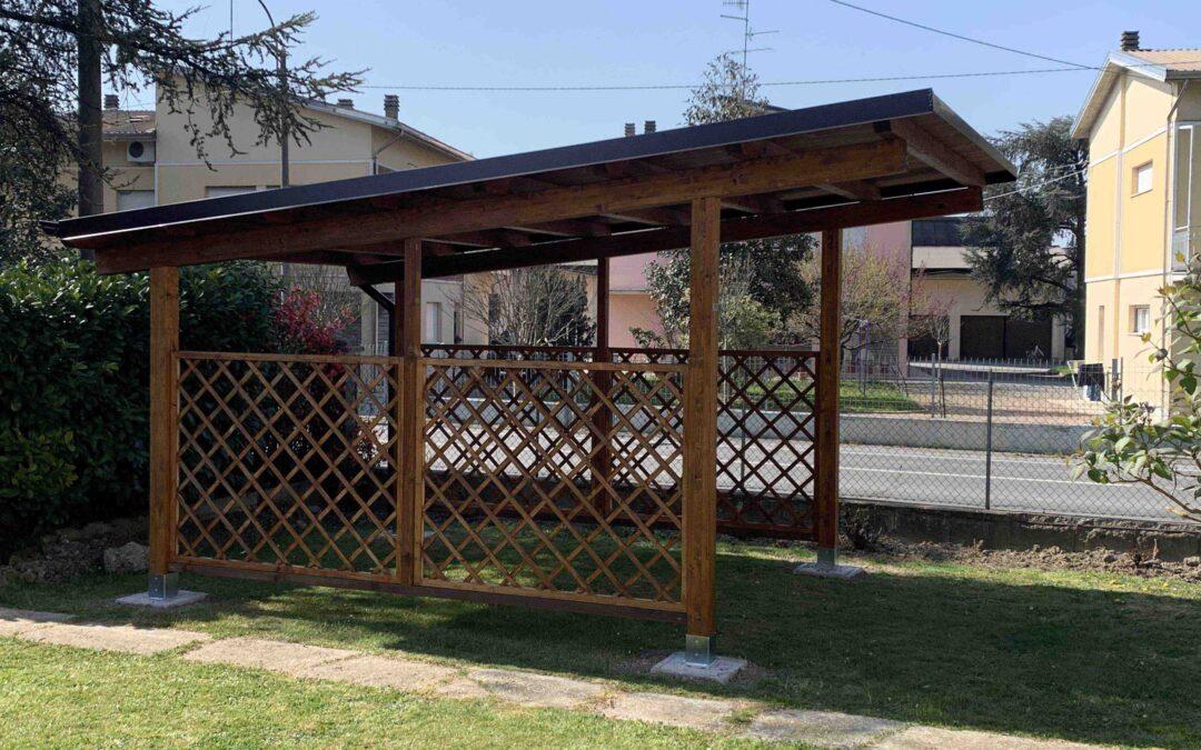Progetto – Nuovo Carport legno Abitazione Privata
